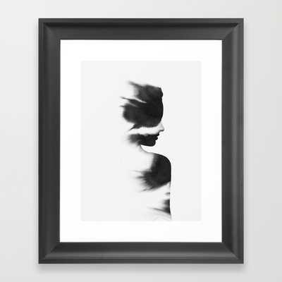 """Kjærleik - 10"""" x 12"""" - Framed - Society6"""