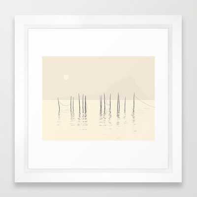 Stillness - framed - Society6