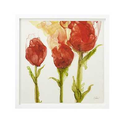 Three Tulips Print - Crate and Barrel