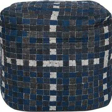 CHECKERBOARD POUF - Home Decorators