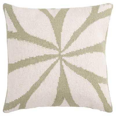 "Fallow Floral Pillow 22"" x 22""-Polyester  fill - Target"
