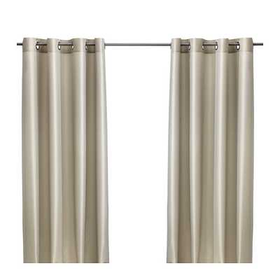 "PÃ""RLBUSKE Curtains, 1 pair, beige - Ikea"
