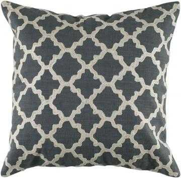 "KEYES DECORATIVE PILLOW-18"" -poly insert - Home Decorators"