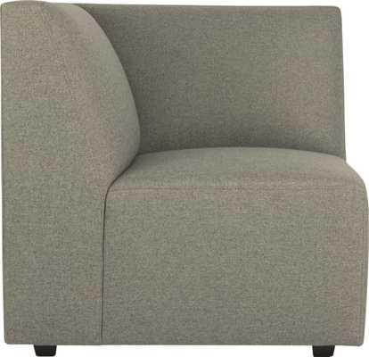 Layne corner sectional chair - buster haze - CB2