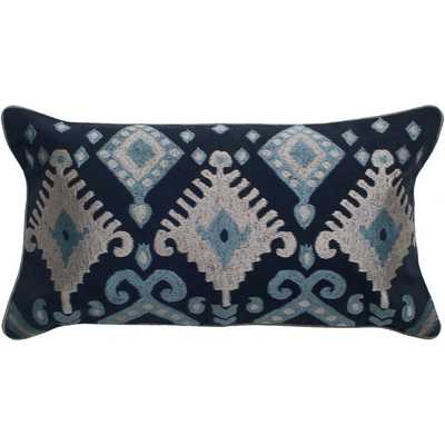 "Raina Pillow Cover-Multi - 11""x 21""-Insert not included - Birch Lane"