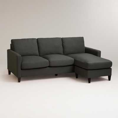 Charcoal Abbott Sofa - World Market/Cost Plus