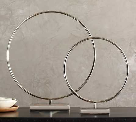 NICKEL RING ON A STAND- Large - Pottery Barn