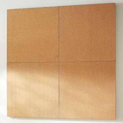 2x2 Corkboard Style Tile 2.0 Set - Pottery Barn Teen