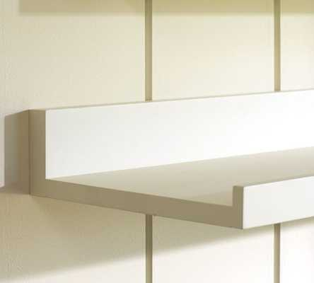 HOLMAN SHELVES - 3' SHELF; WHITE - Pottery Barn