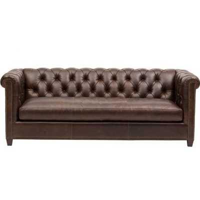 Henry Leather Sofa - High Fashion Home
