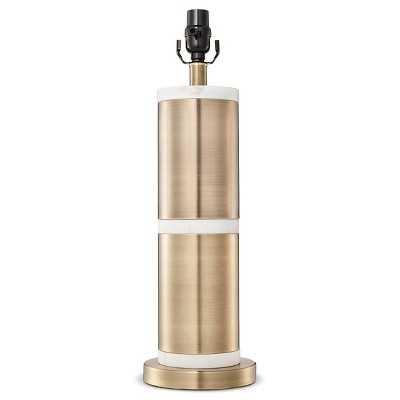 Franklin Lamp Base Large - Aged Brass - Target