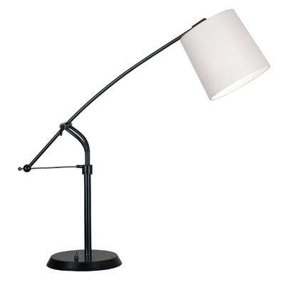 """Cline 36"""" H Table Lamp with Drum Shade - Wayfair"""