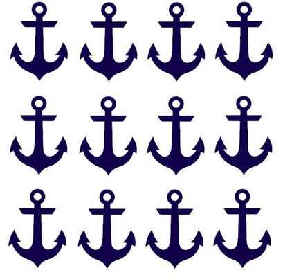 Nautical, Anchor Wall Decal - Etsy
