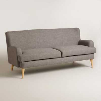 Dolphin Gray Blakely Sofa - World Market/Cost Plus