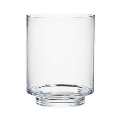Taylor Large Glass Hurricane Candle Holder - Crate and Barrel