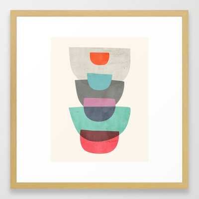 Abstract #1 Stack - Framed - Society6
