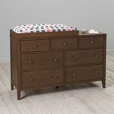 Cocoa Bayside Changing Table Topper - Land of Nod