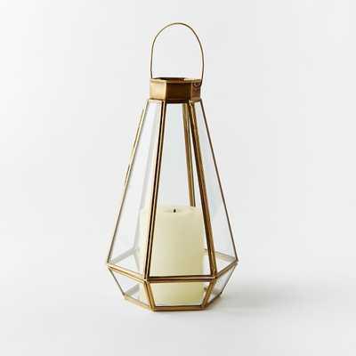 Faceted Lanterns-Large - West Elm