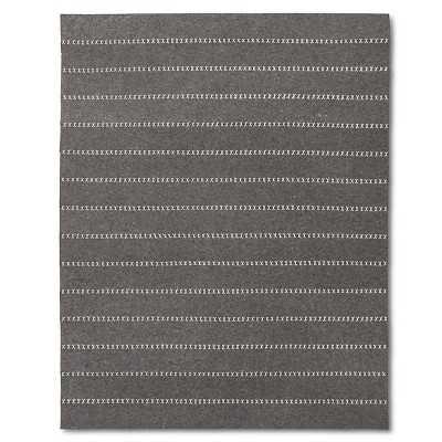 "Striped Felt Area Rug - The Industrial Shopâ""¢-8""x10"" - Target"