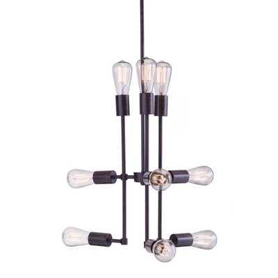Timaru Rust Ceiling Lamp - Overstock
