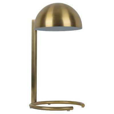 "Mid-Century Inspired Metal Desk Lamp - Gold - Nate Berkusâ""¢ - Target"