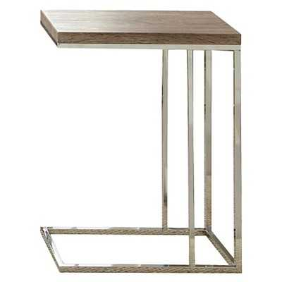 Steve Silver's Louise Chairside End Table - Brown - Target