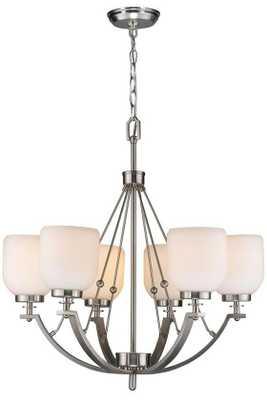RIDLEY 6-LIGHT CHANDELIER - Home Decorators
