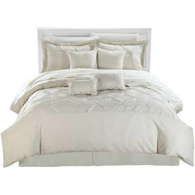 Vermont 8 Piece Comforter Set - Beige - King - Wayfair