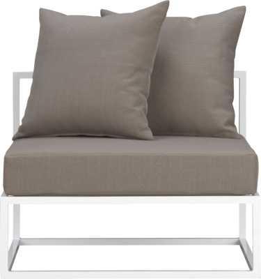 Casbah armless chair - Williams Sonoma