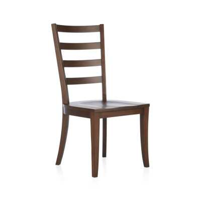 Harper Tea Ladder Back Wood Dining Chair - Crate and Barrel