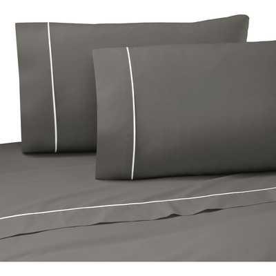 Pipeline 200 Thread Count Graphite Sheet Set - Wayfair