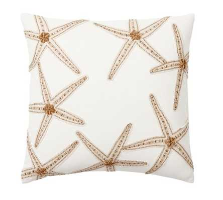 CAICOS STARFISH EMBROIDERED PILLOW COVERS - Pottery Barn