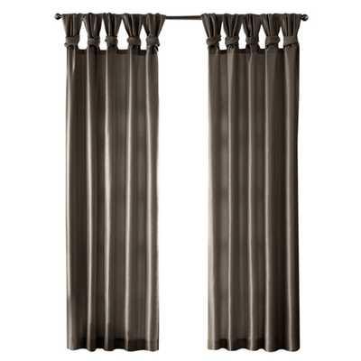 "Emilia Single Curtain Panel - Gray , 95"" - Wayfair"