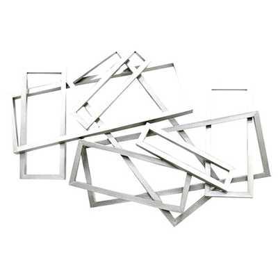 Metal Rectangles Wall Décor - AllModern