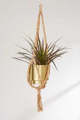 Sienna Beaded Plant Hanger - Urban Outfitters