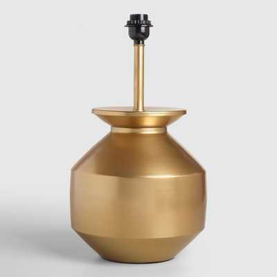 Gold Matki Table Lamp Base - World Market/Cost Plus