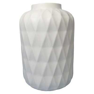 Vase Thrshd Stoneware 11in - Target