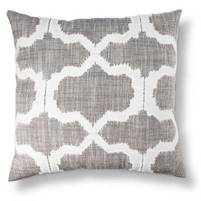 Threshold™ Geometric Applique Pillow - Target