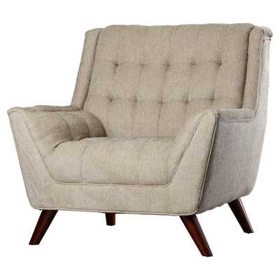Davis Arm Chair-Grey - AllModern