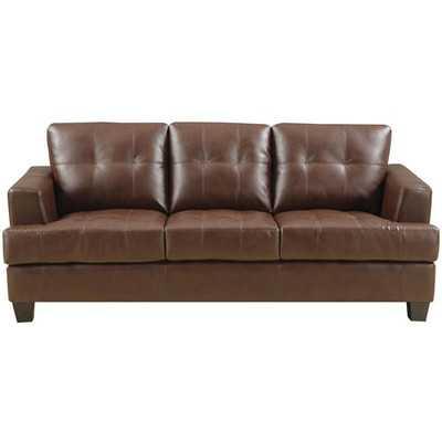Gloucester Leather Sofa - Wayfair