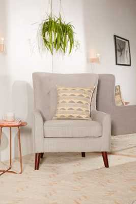 Frankie Chair - Light Grey - Urban Outfitters
