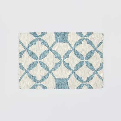 Tile Wool Kilim Rug -  2'x3' - West Elm