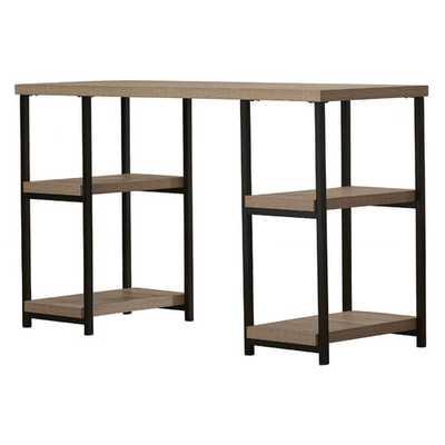 Aarav Double Pedestal Desk - Wayfair