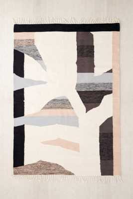 Cici Abstract Woven Rug - Urban Outfitters