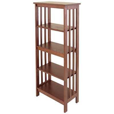 """Mission 54"""" Standard Bookcase - Wayfair"""