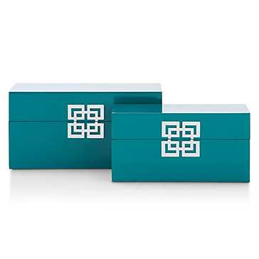 Ming Boxes (Set of 2) - Z Gallerie