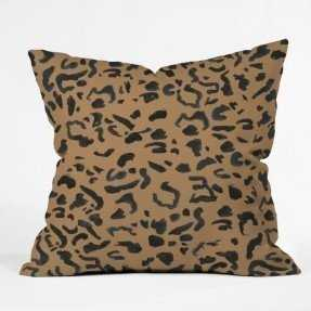 CHEETAH PRINT-18x18 Pillow Cover with insert - Wander Print Co.