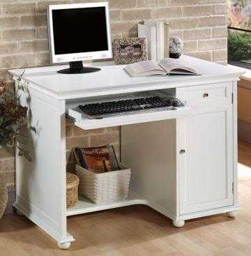 "HAMPTON BAY 42""W COMPUTER/WRITING DESK - Home Decorators"