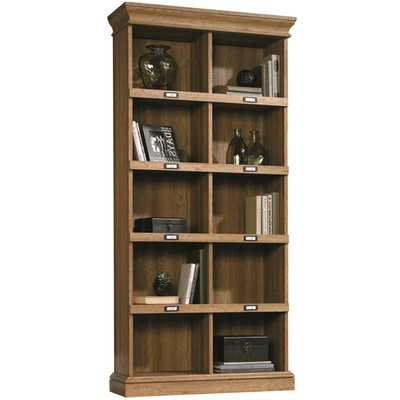 "Bowerbank 75"" Standard Bookcase -  Scribed Oak - Wayfair"