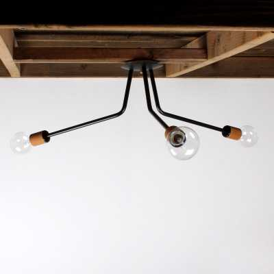 Ceiling light - 4-arm - Matte Black - shop.onefortythree.com